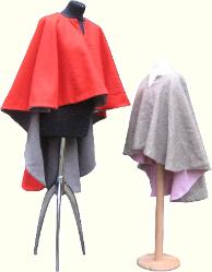 Early medieval mantles / cloaks, adult and child sized